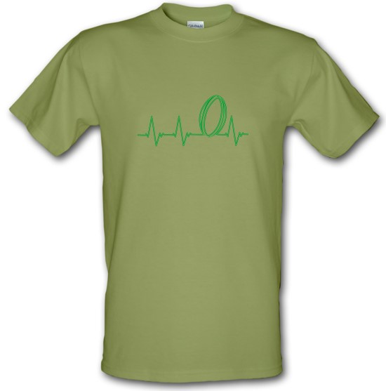 Rugby Heartbeat t-shirts