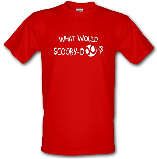 What Would Scooby Doo? t-shirts