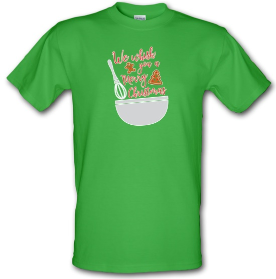 We Whisk You A Merry Christmas t-shirts