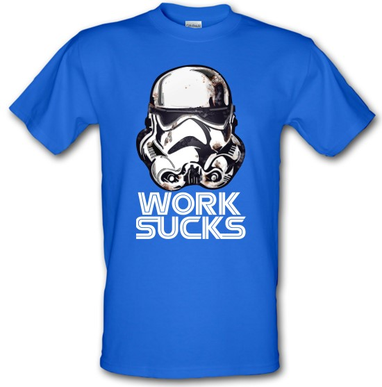 Work Sucks Helmet t-shirts
