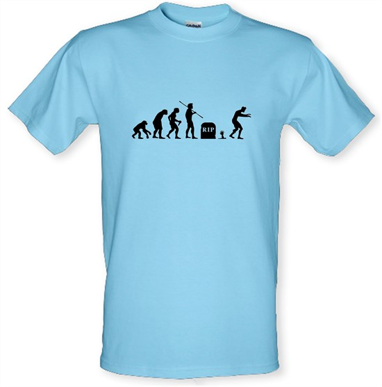 Zombie Evolution t-shirts