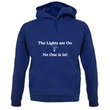 The lights are on No One is in t shirt