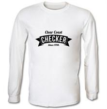 Clear Coast Checker t shirt
