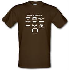 Moustache Guide t shirt