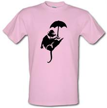 Banksy Flying Rat t shirt