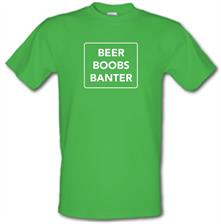 Beer Boobs Banter t shirt