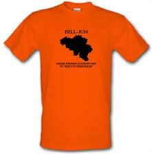 Bell-Jum Where the rest of Europe visit to resolve their issues t shirt