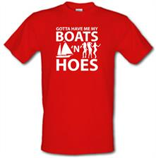 Boats 'N Hoes t shirt
