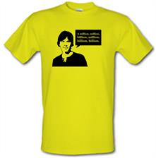 Brian Cox Million Billion t shirt