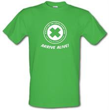 Green Cross Code t shirt