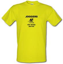 Joggers Two Words Jim Fixx t shirt