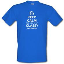 Keep Calm And You Stay Classy San Diego t shirt