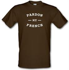 Pardon My French t shirt