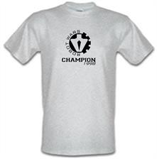 Robot Wars Champion 1998 t shirt
