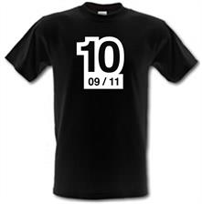 Ten Years On t shirt
