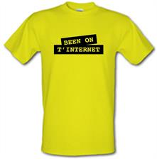 Been on t-internet t shirt