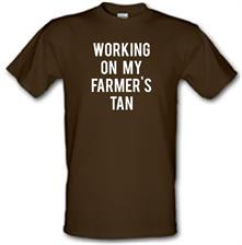 Working On My Farmer's Tan t shirt