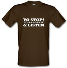 Yo Stop! Collaborate and listen t shirt