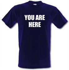 You Are Here - John Lennon t shirt