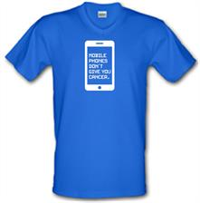 Mobile Phones Don't Give You Cancer t shirt