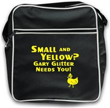 Small and yellow? Gary Glitter needs you! t shirt
