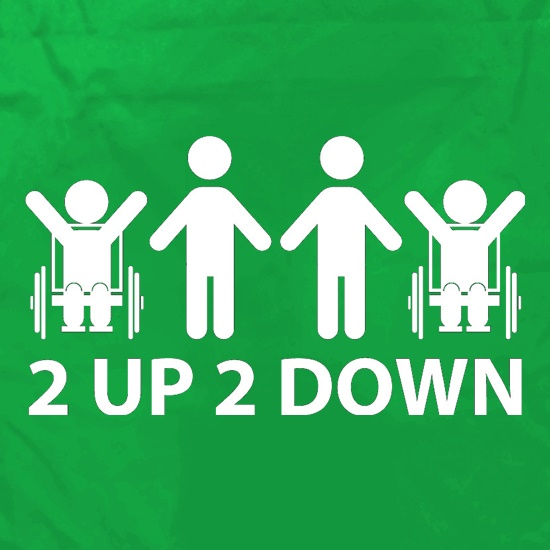 2 Up 2 Down Apron