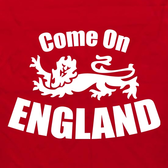 Come On England Apron
