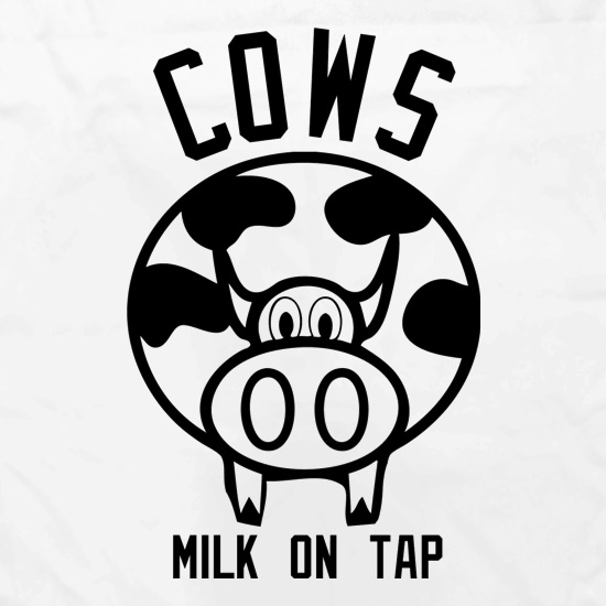 Cows Milk on Tap Apron