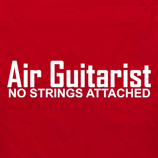 Air Guitarist - No Strings attached Apron