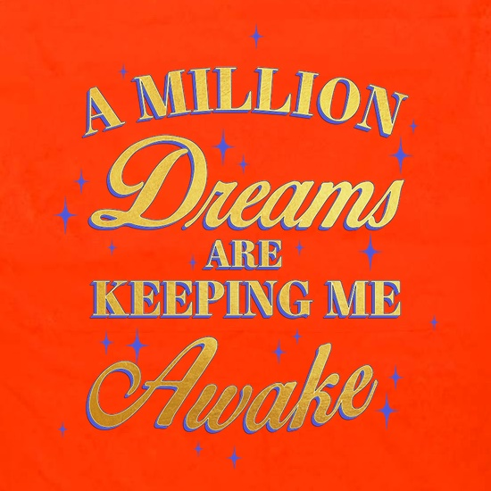 A Million Dreams Are Keeping Me Awake Apron