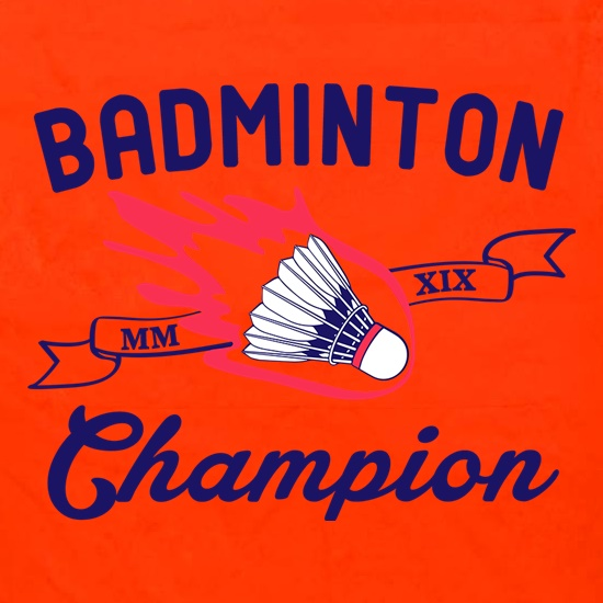 Badminton Champion Apron