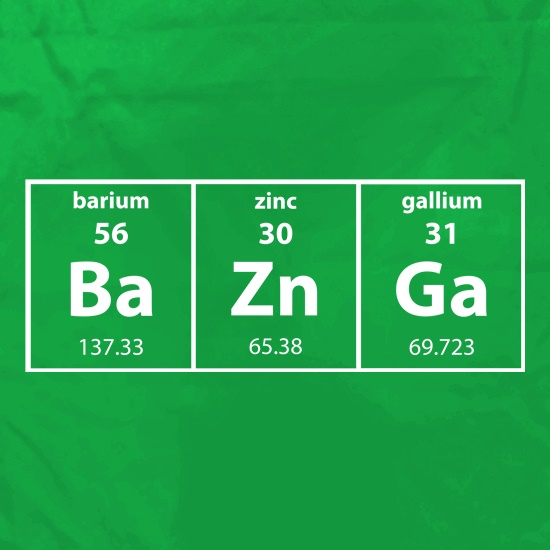 Baznga Periodic Table Apron