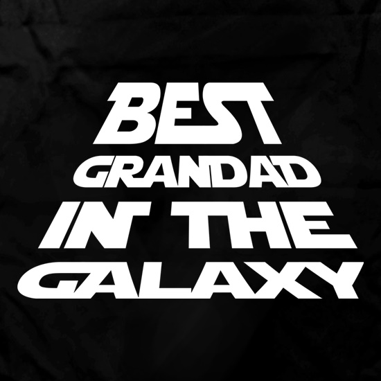 Best Grandad In The Galaxy Apron