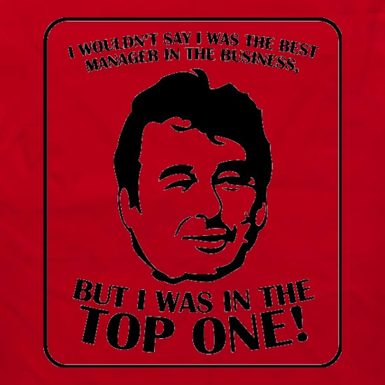 Brian Clough Apron