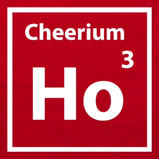 Christmas Element Cheerium Ho Ho Ho Apron