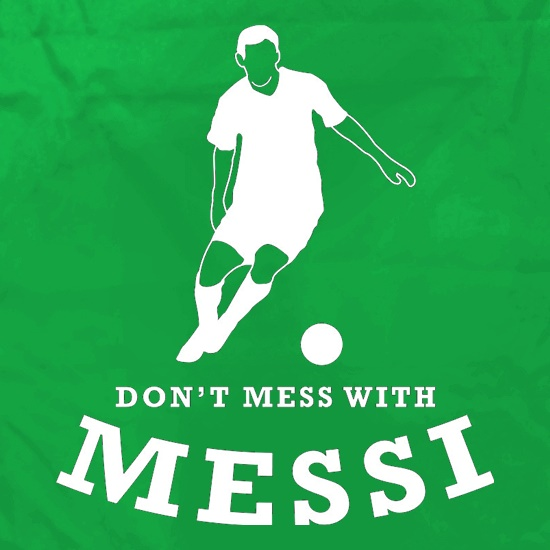 Don't Mess With Messi Apron