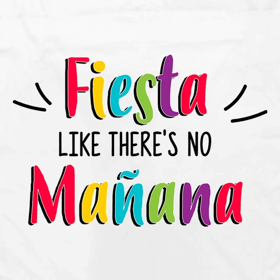Fiesta Like There's No Manana Apron