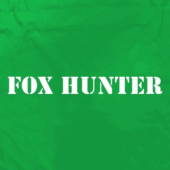 Fox Hunter Apron