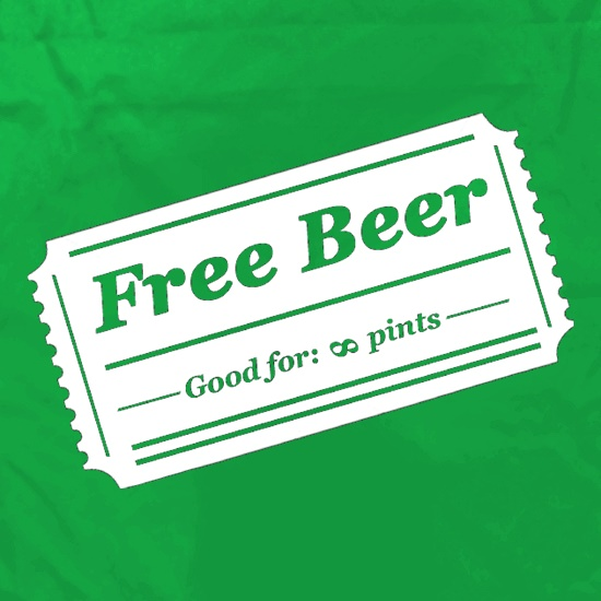 Free Beer Apron