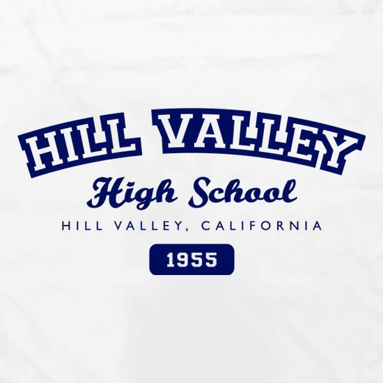 Hill Valley High School Apron