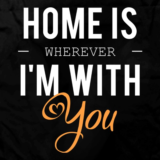 Home Is Wherever I'm With You Apron