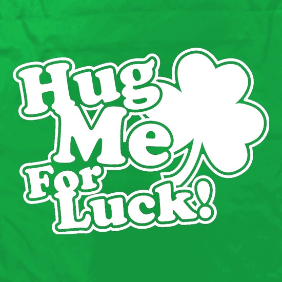 Hug Me For Luck! Apron