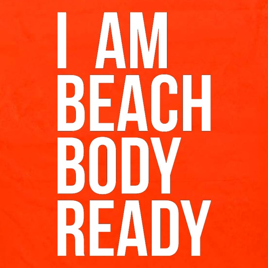 I am beach body ready Apron
