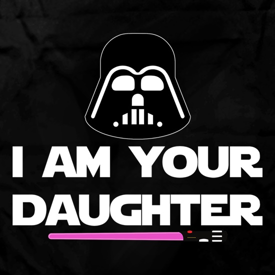 I Am Your Daughter Apron