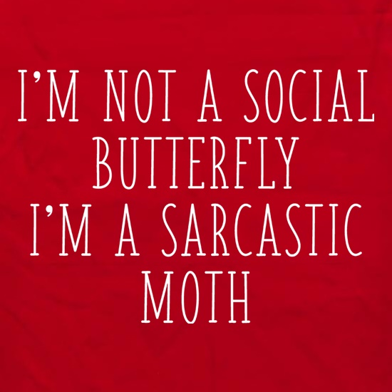 I'm Not A Social Butterfly Apron