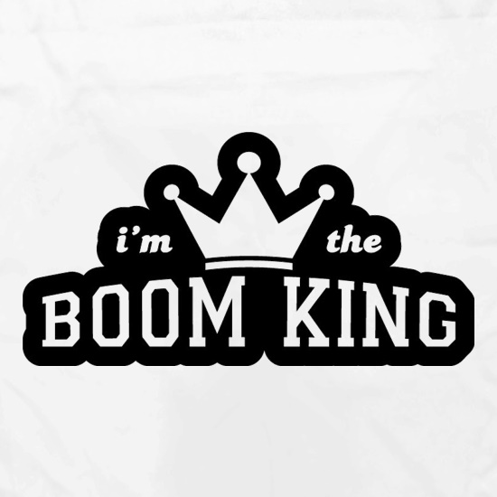 I'm The Boom King Apron