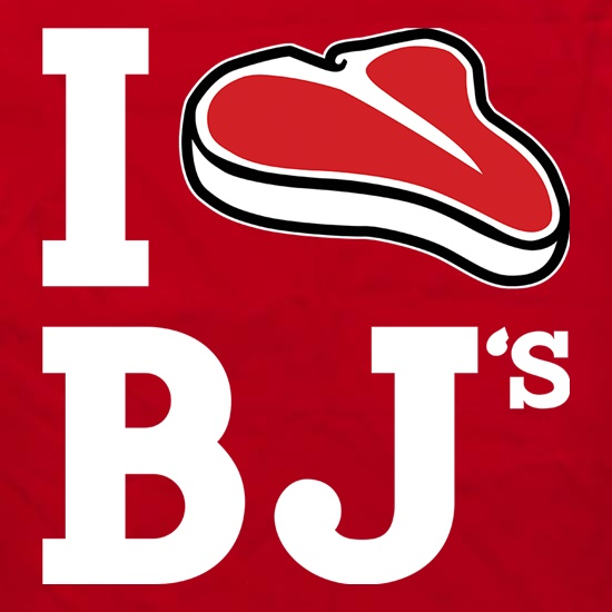 I Steak BJ's Apron