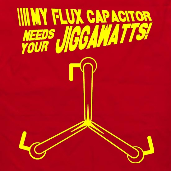 My Flux Capacitor Needs Your Jiggawatts Apron
