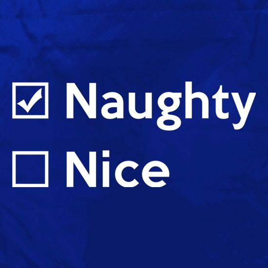 Naughty Not Nice Apron