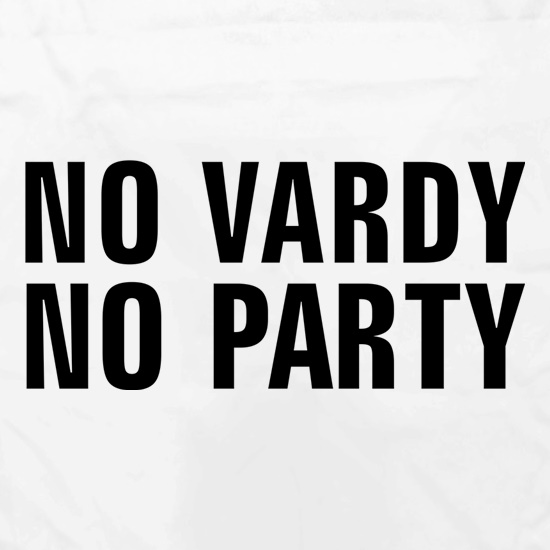 No Vardy No Party Apron